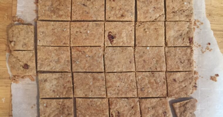 Pecan-Brown Sugar Shortbread